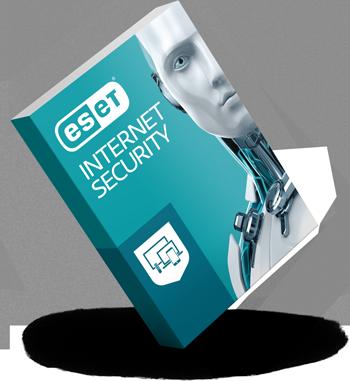 ESET Internet Security - 3d box balanced - RGB