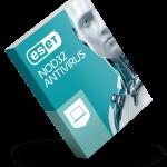 ESET NOD32 Antivirus - 3d box balanced - RGB