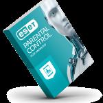 ESET Parental Control for Android - 3d box balanced - RGB