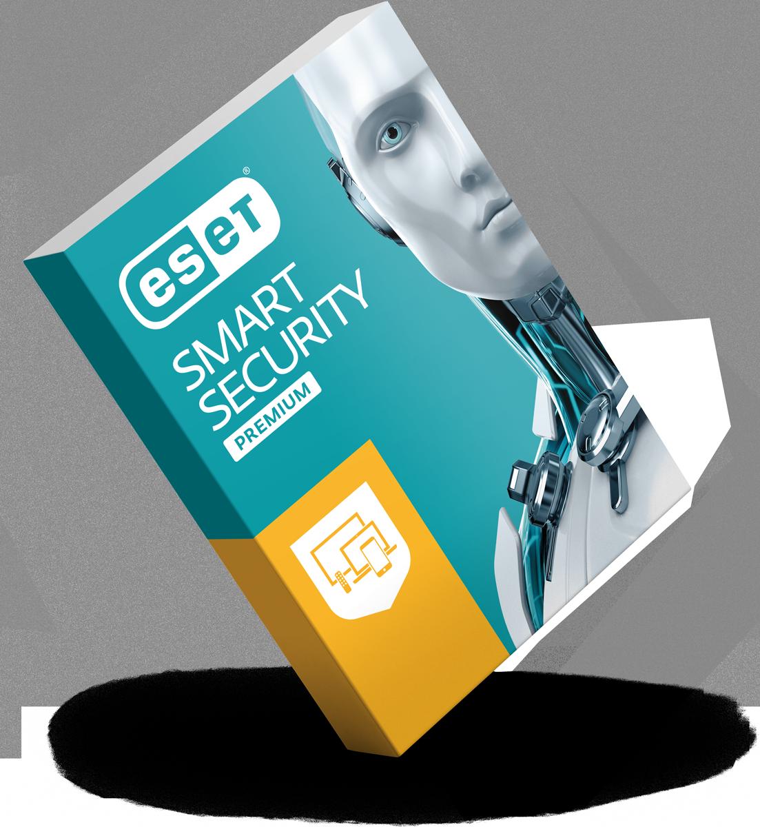 ESET Smart Security Premium - 3d box balanced - RGB