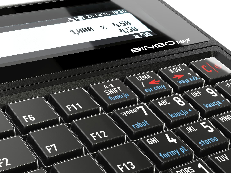 kasa fiskalna posnet bingo max online